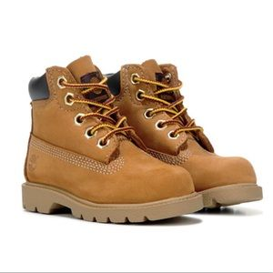"TIMBERLAND KIDS 6"" CLASSIC BOOT TODDLER WHEAT BOYS"